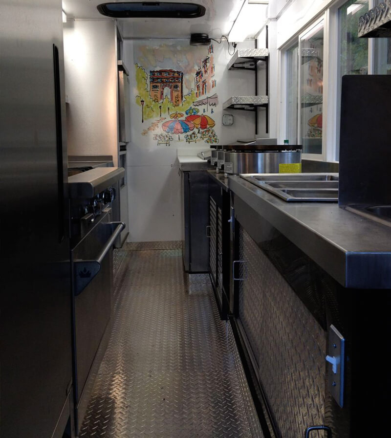 Bonjour Inside the Food Truck