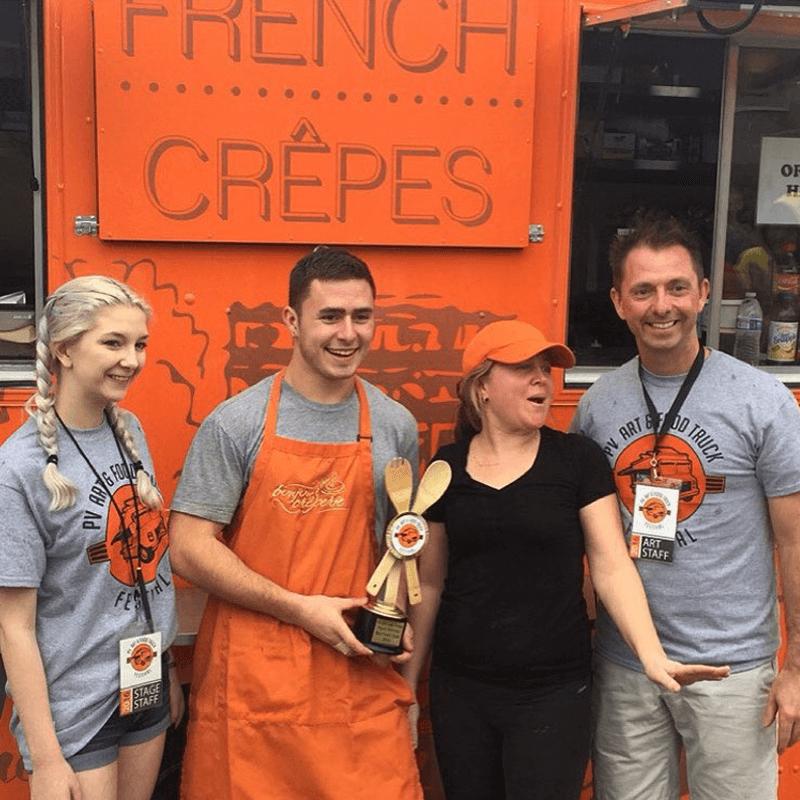 Bonjour Creperie - Award